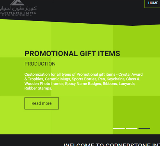 Cornerstone International Advertising Company