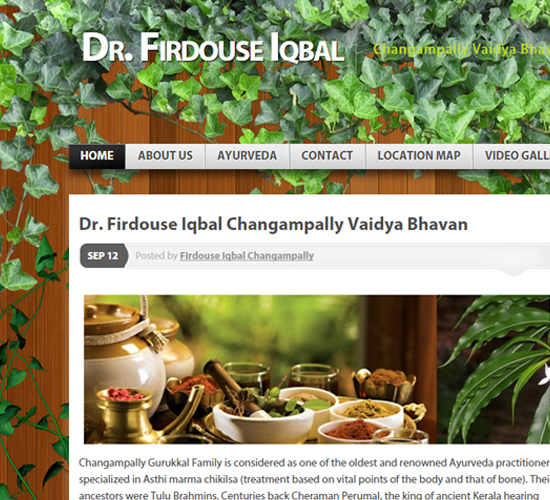 Dr. Firdouse Iqbal Changampally Vaidya Bhavan