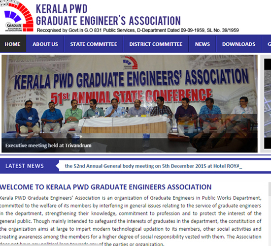 Kerala PWD Graduate Engineers Association Calicut